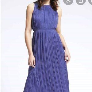Banana Republic Periwinkle Blue Maxi Dress (EUC)